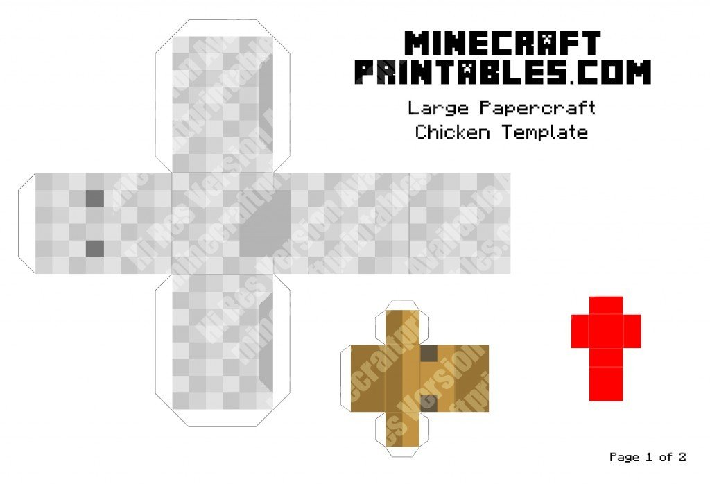 minecraft-printable-papercraft-chicken_large_1
