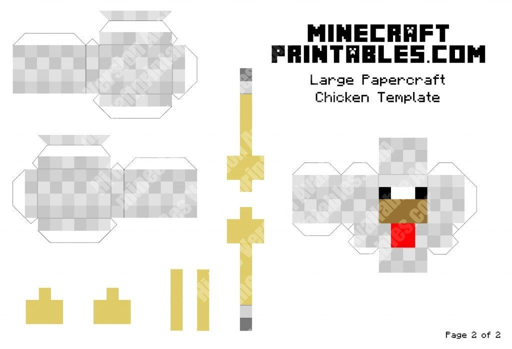 minecraft-printable-papercraft-chicken_large_2