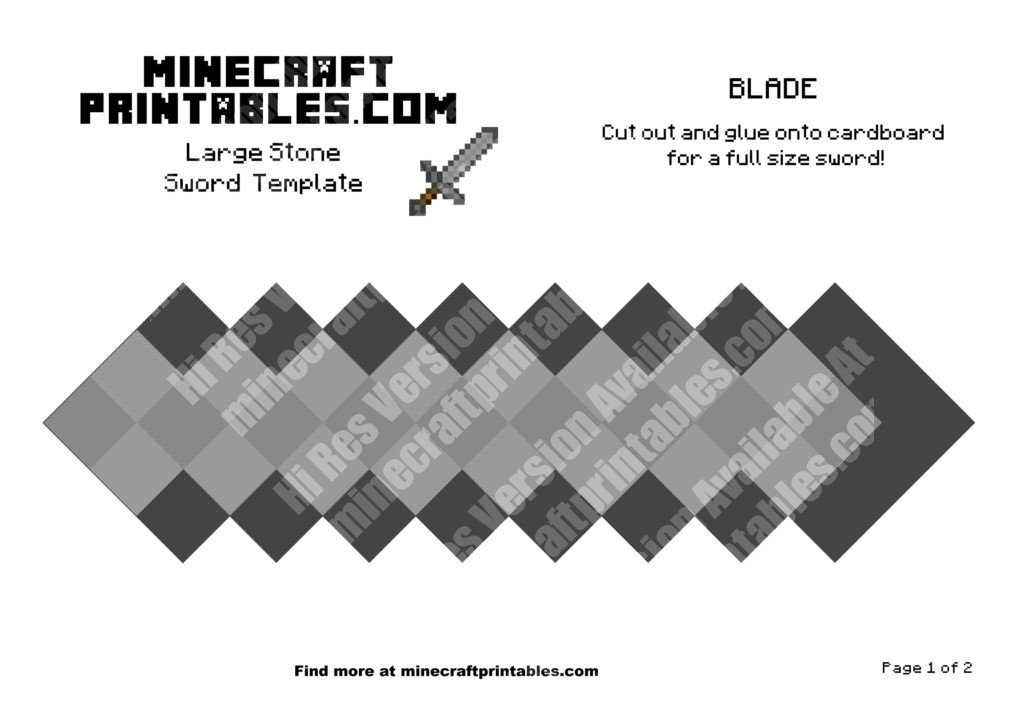 minecraft-printable-papercraft-stone-sword_large_1