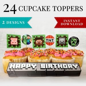minecraft-printable-cupcake-toppers