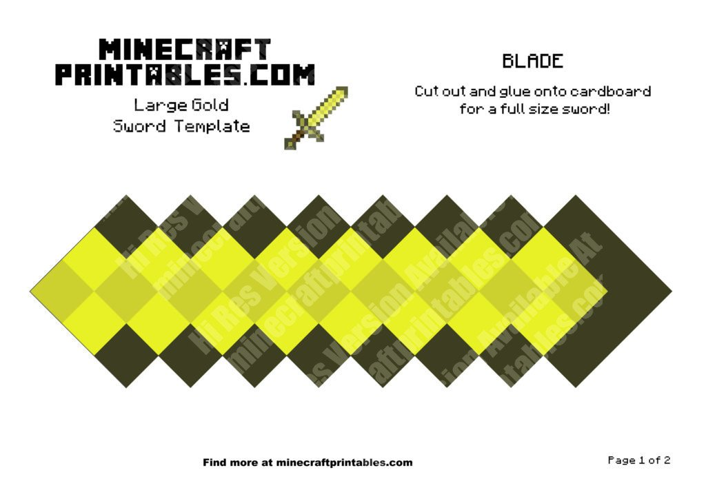 minecraft-printable-papercraft-gold-sword_large_1