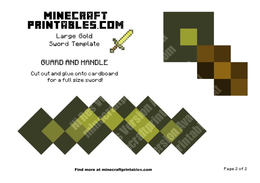 minecraft-printable-papercraft-gold-sword_large_2