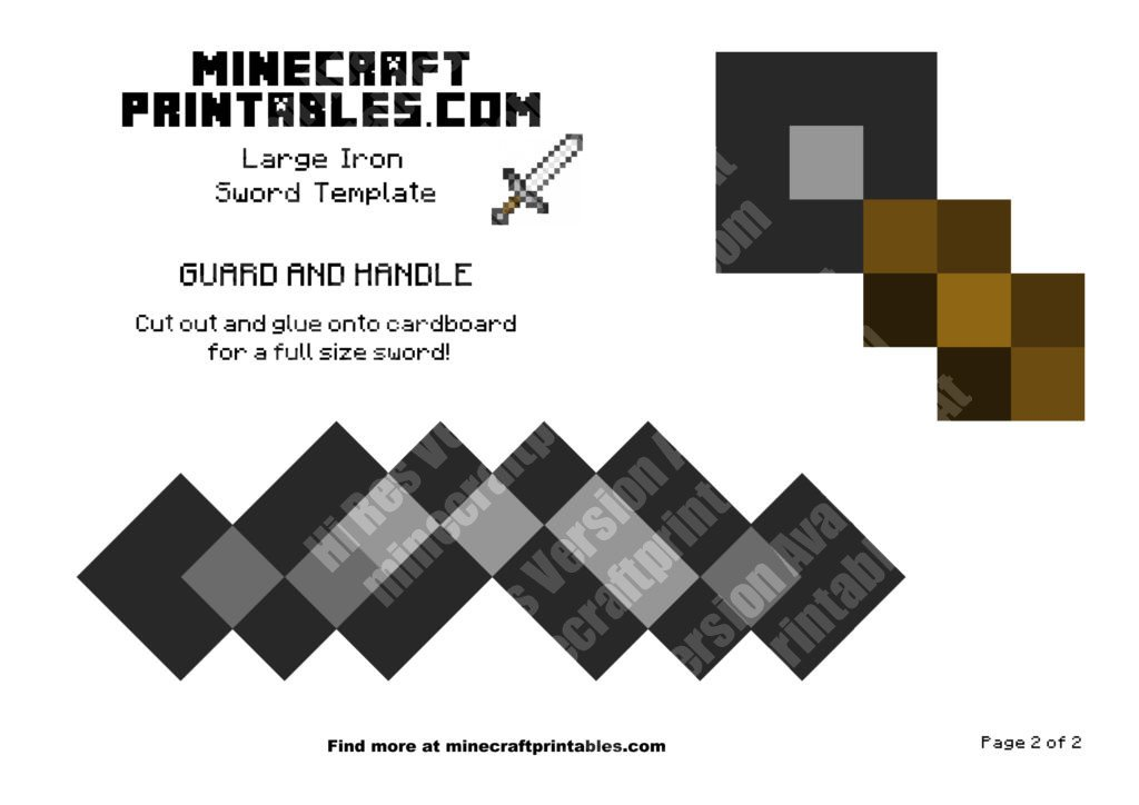 minecraft-printable-papercraft-iron-sword_large_2