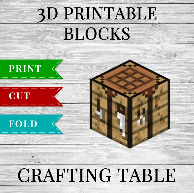 Tremendous Printable Minecraft Crafting Table Template Download Free Architecture Designs Barepgrimeyleaguecom